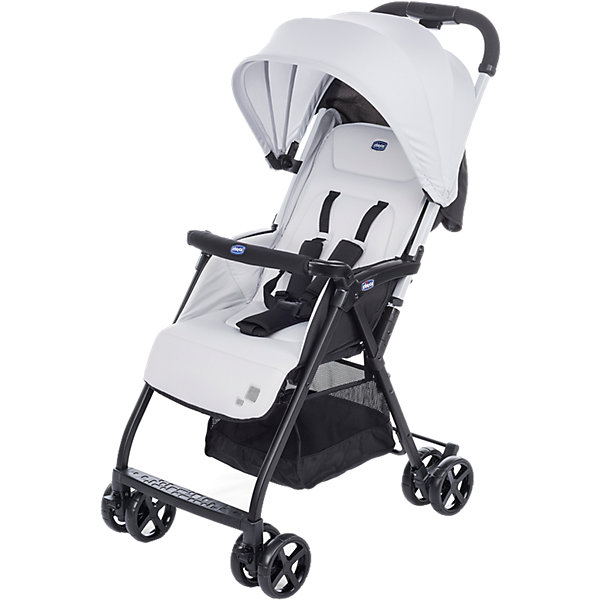 CHICCO Прогулочная коляска Chicco Ohlala Silver коляска 2 в 1 chicco trio stylego red passion