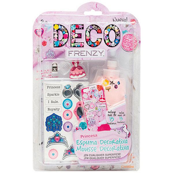 Набор для декорирования Cife Spain Business Deco Frenzy, ПринцессаНаборы для декора<br>Характеристики:<br><br>• размер: 20х30х3см.;<br>• материал: картон;<br>• вес: 133г.;<br>• для детей в возрасте: от 6лет;<br>• страна производитель: Китай;<br><br>Набор для декорирования Deco Frenzy (Деко Френзи) «Принцесса» бренда Cife Spain Business (Сайф Спейн Бизнес) станет хорошим подарком для девочек.<br><br>В наборе для рукоделия находится комплект для создания шикарного образа, мечта каждой девочки. Она сама сможет создать и украсить себя по своему вкусу. Для этого в комплекте имеется всё самое необходимое: бусины, жемчужины, подвески и блёстки, а также паста для фиксации.<br><br>Создавать свой образ своими руками девочка с удовольствием будет вместе со своими подругами.<br><br>Создание образа поможет развить любовь к стилистике, фантазию и внимание.<br><br>Набор для декорирования Deco Frenzy (Деко Френзи) «Принцесса» можно купить в нашем интернет-магазине.