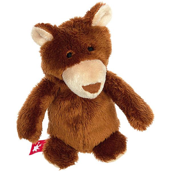 Sigikid Мягкая игрушка Sigikid Малыш медвежонок, коллекция Плюшевые Гаджеты, 13 см мягкая игрушка sigikid свинка 30 см