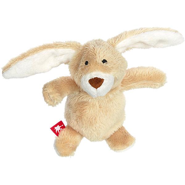 Sigikid Мягкая игрушка Sigikid Малыш кролик, коллекция Плюшевые Гаджеты, 13 см мягкая игрушка sigikid свинка 30 см