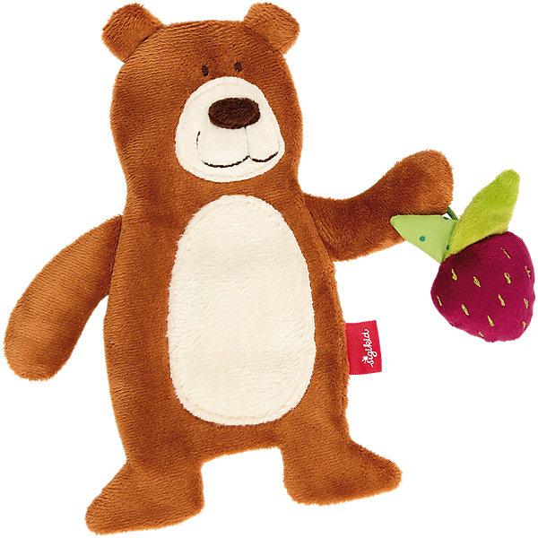 Купить Мягконабивная игрушка sigikid, шуршащий мишка, коллекция Классик, 20 см, Китай, Унисекс