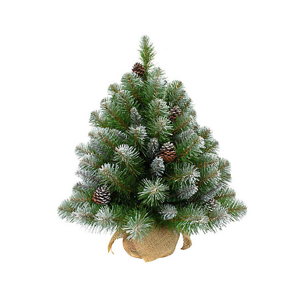 Triumph Tree Искусственная елка Triumph Tree Императрица. С шишками, заснеженная, 90 см (белая, зеленая) елка искусственная triumph tree императрица с шишками