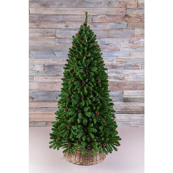 Triumph Tree Искусственная елка Triumph Tree Императрица. С шишками, 155 см (зеленая) елка искусственная triumph tree императрица с шишками