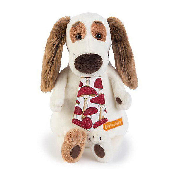 Budi Basa Мягкая игрушка Собака Бартоломей в галстуке, 27 см