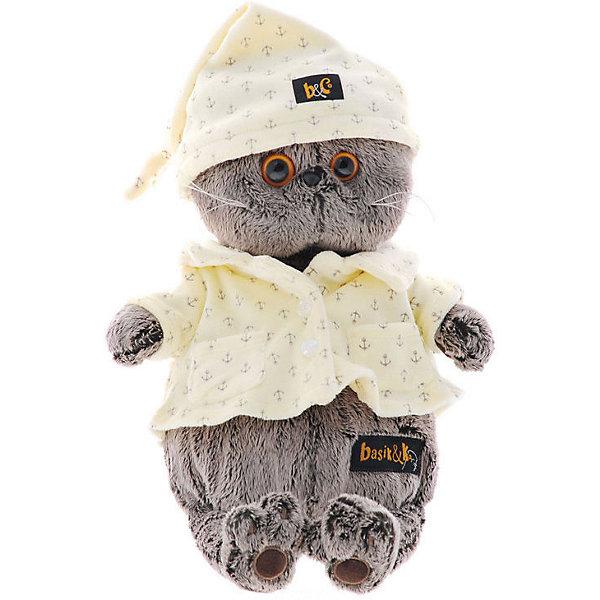 Budi Basa Мягкая игрушка Budi Basa Кот Басик в пижаме, 19 см