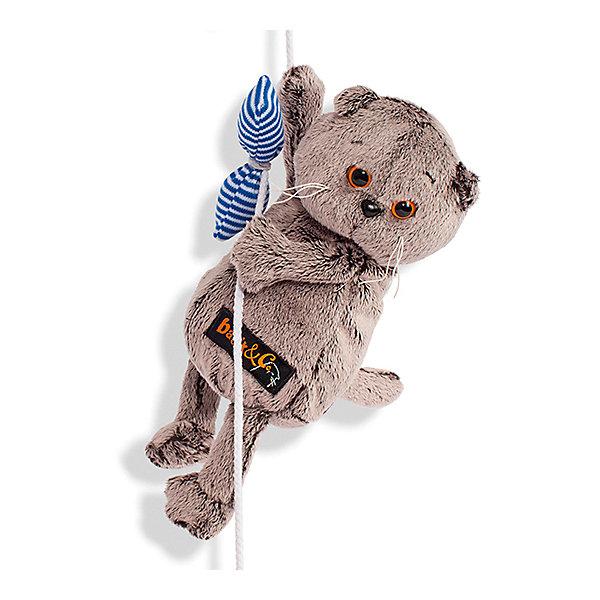 Budi Basa Мягкая игрушка Budi Basa Кот Басик и канат, 19 см budi basa budi basa мягкая игрушка басик baby в колпаке со снеговичком 30 см