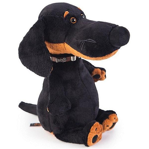 Купить Мягкая игрушка Budi Basa Собака Ваксон в ошейнике, 25 см, Россия, Женский