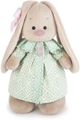 Мягкая игрушка Budi Basa Зайка Ми в бирюзовом пальто, 25 см, артикул:7143429 - Мягкие игрушки