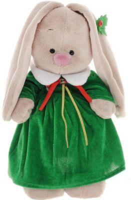 Мягкая игрушка Budi Basa Зайка Ми в рождественском платье, 32 см, артикул:7143436 - Мягкие игрушки