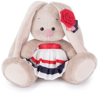 Мягкая игрушка Budi Basa Зайка Ми в морском костюме, 15 см, артикул:7143453 - Мягкие игрушки