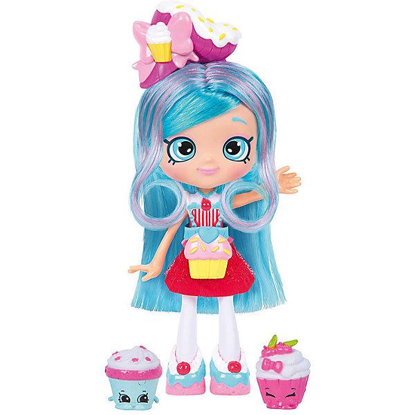 Мини-кукла Moose Shopkins Shoppies Кулинарный клуб Джессикейк, 13 смПопулярные игрушки<br>Характеристики товара:<br><br>• возраст: от 5 лет;<br>• высота куклы:  13 см;<br>• материал: пластик;<br>• упаковка: картонная коробка;<br>• размер упаковки: 17х27х7 см.;<br>• вес: 250 гр.;<br>• наименование бренда, страна бренда: Moose (Мус), Австралия;<br>• страна изготовитель: Китай.<br><br>Кукла Shoppies «Джесикейк (Jessicake)» - в этот игровой набор из серии «Кулинарный клуб» входит  очаровательная кукла с удивительными волосами, расческа, а также 2 фигурки-вкусняшка Shopkins. <br><br>Кукла по имени Джесикейк станет доброй подружкой маленькой девочке. Кукла с яркими разноцветными волосами, которые можно расчесывать и надевать на нее ободок, наряжена в стильный и яркий костюм.<br> <br>С помощью игрушек от знаменитого бренда Moose можно собирать большую коллекцию и придумывать различные интересные сюжеты для игры с ними. Они изготовлены из высококачественных материалов, безопасных для детского здоровья. <br><br>Игры с куклами прекрасно развивают мелкую моторику рук, внимательность, образное мышление, познавательный интерес, обогащают словарный запас.<br><br>Куклу Shoppies «Джесикейк (Jessicake)», 13 см., Moose (Мус) можно купить в нашем интернет-магазине.<br>Ширина мм: 170; Глубина мм: 70; Высота мм: 270; Вес г: 250; Возраст от месяцев: 60; Возраст до месяцев: 2147483647; Пол: Женский; Возраст: Детский; SKU: 7143855;