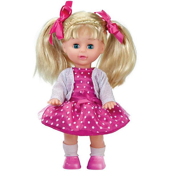 КАРАПУЗ Кукла Карапуз Малышка озвученная, 25 см карапуз кукла рапунцель со светящимся амулетом 37 см со звуком принцессы дисней карапуз