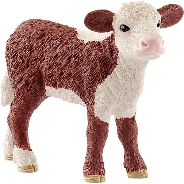 Schleich Фигурка Герефордский теленок