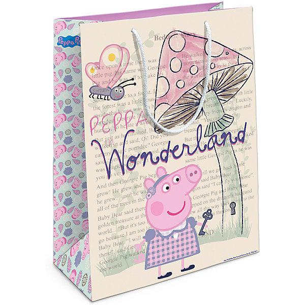 Росмэн Подарочный пакет Росмэн Peppa Pig. Страна чудес Пеппы хлопушка на сжатом воздухе росмэн peppa pig