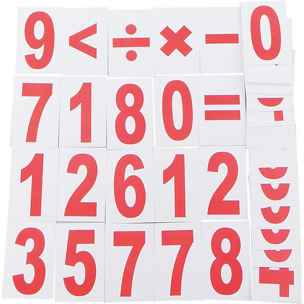 Набор обучающих карточек Вундеркинд с пелёнок Цифры 48 штукОбучающие карточки<br>Характеристики:<br><br>• ISBN: 4612731630515;<br>• бренд: Вундеркинд с пеленок;<br>• вес: 70 гр;<br>• материал: картон;<br>• размер: 9x5,5x2 см;<br>• возраст: от 3 лет;<br>• количество карточек: 48 шт. <br><br>Комплект карточек «Цифры» - это комплект карточек для занятий с детьми от трех лет. Набор состоит из 48 карточек, на которых изображены 48 математических знака - это цифры от 0 до 9 и математические символы: *, /, +, -, &gt;, =. Каждая цифра и математический знак в наборе дублируются трижды.<br><br>Карточки помогут детям в игровой форме овладеть азами математики. Кроме того, проводить время с детьми при помощи этих карточек можно познавательно. Веселая игровая форма гарантирует наилучшее запоминание, долгую усидчивость ребенка. Достаточное количество карточек в наборе, поможет ребенку не только освоить цифры, но и научит его решать простейшие примеры на сложение, вычитание, деление, умножение, а также сравнивать числа.<br><br>Комплект карточек «Цифры»  можно купить в нашем интернет-магазине.<br>Ширина мм: 90; Глубина мм: 55; Высота мм: 20; Вес г: 70; Возраст от месяцев: 36; Возраст до месяцев: 84; Пол: Унисекс; Возраст: Детский; SKU: 7182415;
