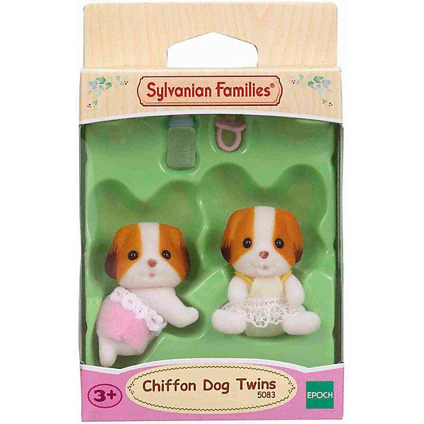 Эпоха Чудес Игровой набор Epoch Sylvanian Families Шифонские щенки-двойняшки