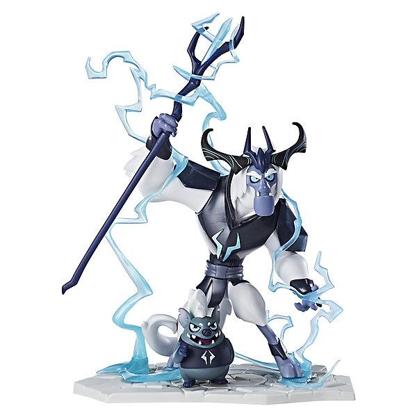 Коллекционная фигурка Hasbro My little Pony Темные силы, Король Шторм и Рэй ТорментаКоллекционные фигурки<br>Характеристики товара:<br><br>• возраст: от 4 лет;<br>• материал: пластик;<br>• высота фигурки: 25 см;<br>• размер упаковки: 33х25,4х13,3 см;<br>• вес упаковки: 916 гр.;<br>• страна производитель: Китай.<br><br>Коллекционная фигурка My Little Pony «Темные силы. Король Шторм» создана по мотивам известного мультсериала про очаровательных разноцветных пони. Фигурка представляет собой злодея Короля Шторма, который хочет захватить Эквестрию. Фигурка изготовлена из качественного пластика. <br><br>Коллекционную фигурку My Little Pony «Темные силы. Король Шторм» можно приобрести в нашем интернет-магазине.<br>Ширина мм: 133; Глубина мм: 254; Высота мм: 330; Вес г: 916; Возраст от месяцев: 48; Возраст до месяцев: 2147483647; Пол: Женский; Возраст: Детский; SKU: 7186006;