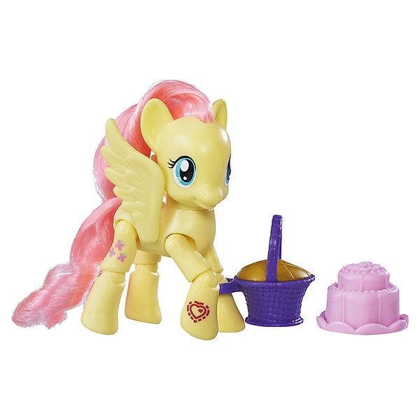 Игровой набор Hasbro My little Pony Пони с артикуляцией, ФлатершайФигурки из мультфильмов<br>Характеристики товара:<br><br>• возраст: от 4 лет;<br>• материал: пластик;<br>• в комплекте: фигурка пони, аксессуары;<br>• размер упаковки: 17,8х18,4х4,8 см;<br>• вес упаковки: 136 гр.;<br>• страна производитель: Китай.<br><br>Фигурка пони с артикуляцией My Little Pony создана по мотивам известного мультсериала про очаровательных разноцветных пони. Она представляет собой одну из героинь мультфильма. У пони несколько точек артикуляции, у нее сгибаются ноги, она может даже садиться. Помимо этого, у пони разноцветная мягкая грива, которую можно расчесывать и украшать. Фигурка изготовлена из качественного пластика. <br><br>Фигурку пони с артикуляцией My Little Pony можно приобрести в нашем интернет-магазине.<br>Ширина мм: 48; Глубина мм: 178; Высота мм: 184; Вес г: 136; Возраст от месяцев: 48; Возраст до месяцев: 72; Пол: Женский; Возраст: Детский; SKU: 7186021;