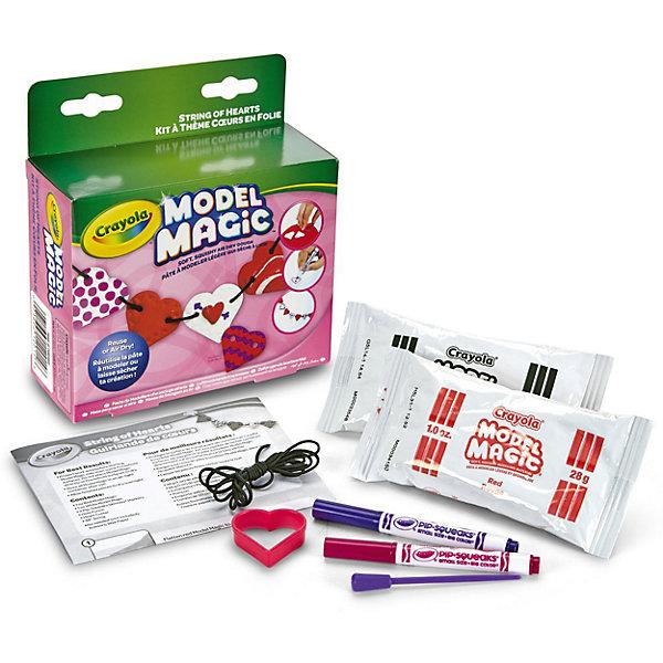 Crayola Набор волшебного пластилина Бусы из сердечек