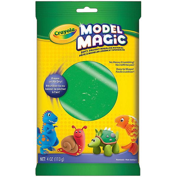 Crayola Застывающий пластилин Model Magic, зеленый 113 гр