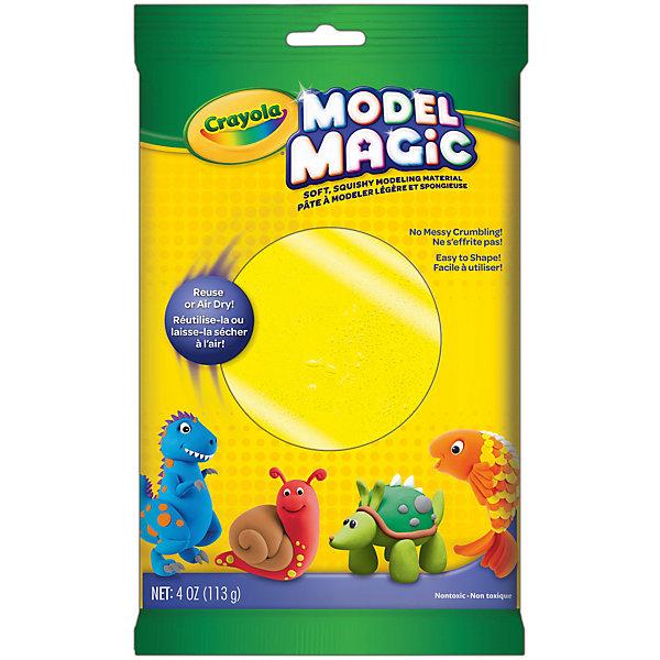 Crayola Застыающий пластилин Crayola Model Magic, желтый 113 гр