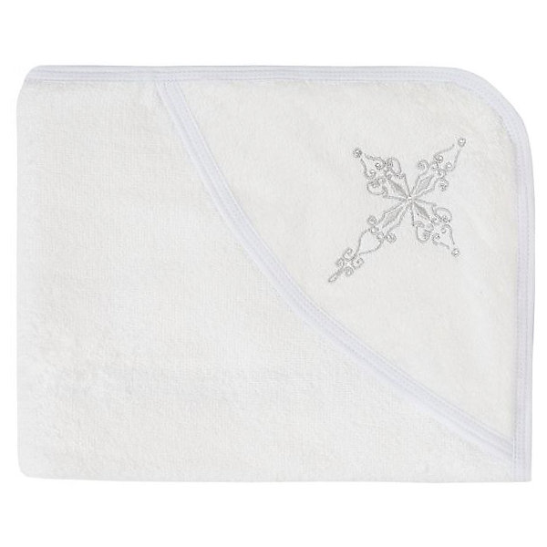 Фото - Twinklbaby Полотенце крестильное Серебряный Крестик, Twinklbaby полотенце