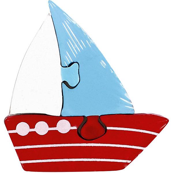 Mapacha Пазл Кораблик 3 дет. mapacha пазл для малышей вкладыши формы и цвета