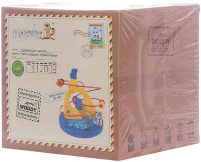 Фото - Mapacha Развивающая игра рамка Кошки-Мышки развивающая игрушка mapacha суперкуб разноцветный