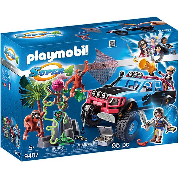 PLAYMOBIL® Конструктор Playmobil Монстр-грузовик с Алекс и Рок Брок, 24 детали