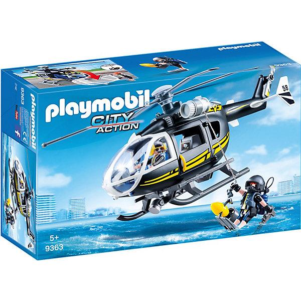 PLAYMOBIL® Игровой набор Playmobil Полиция: тактическое подразделение, вертолет