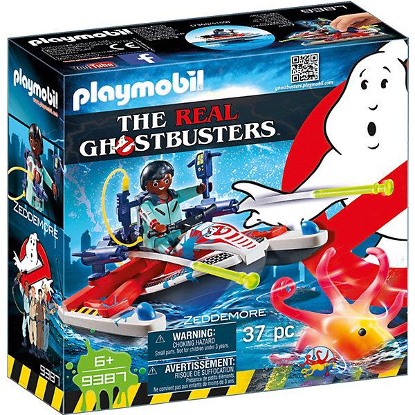 PLAYMOBIL® Конструктор Playmobil Охотник за привидениями playmobil® конструктор playmobil полиция блокпост полиции