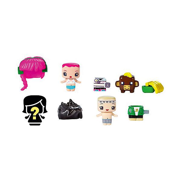 Mattel Набор из 3-х фигурок My Mini MixieQ's, С коричневой коровкой