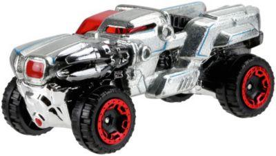Машинка Mattel Hot Wheels  Персонажи DC , Киборг, артикул:7191224 - Игрушки для мальчиков