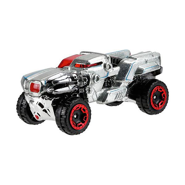 Mattel Машинка Mattel Hot Wheels Персонажи DC, Киборг mattel hot wheels fgk67 машинки персонажей dc зелёная стрела