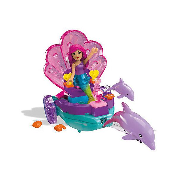 Mattel Конструктор MEGA BLOKS Barbie Сказочные наборы Русалочка с каретой, 40 деталей конструктор mega bloks first builders веселые качели 29 элементов