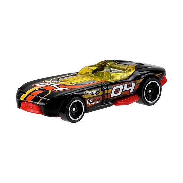 Базовая машинка Mattel Hot Wheels, RrroadsterМашинки<br>Характеристики:<br><br>• возраст: от 3 лет;<br>• материал: металл, пластмасса;<br>• вес упаковки: 30 гр.;<br>• размер упаковки: 11х4х11 см;<br>• тип упаковки: блистерный;<br>• страна бренда: США.<br><br>Машинка Hot Wheels от Mattel входит в группу моделей базовой коллекции. Миниатюры этой серии изображают реальные автомобили, спорткары, фургоны, мотоциклы в масштабе 1:64, а также модели с собственным оригинальным дизайном. Собрав свою линейку машинок, ребенок сможет устраивать заезды, гонки и меняться экземплярами с друзьями.<br><br>Монолитные элементы игрушки увеличивают ее прочность. Падение и столкновение с твердыми предметами во время игр не отражается на внешнем виде и ходе машинки. Кузов отчетливо детализирован, покрыт стойкими насыщенными красками. Колеса легко вращаются вокруг своей оси.<br><br>Игрушка выполнена из качественных материалов, сертифицированных по стандартам безопасности для использования детьми.<br><br>Машинку Hot Wheels из базовой коллекции можно купить в нашем интернет-магазине.<br>Ширина мм: 110; Глубина мм: 45; Высота мм: 110; Вес г: 30; Возраст от месяцев: 36; Возраст до месяцев: 96; Пол: Мужской; Возраст: Детский; SKU: 7191279;