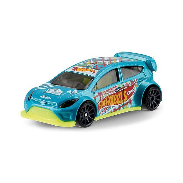 Базовая машинка Mattel Hot Wheels, 12 Ford FiestaМашинки<br>Характеристики:<br><br>• возраст: от 3 лет;<br>• материал: металл, пластмасса;<br>• вес упаковки: 30 гр.;<br>• размер упаковки: 11х4х11 см;<br>• тип упаковки: блистерный;<br>• страна бренда: США.<br><br>Машинка Hot Wheels от Mattel входит в группу моделей базовой коллекции. Миниатюры этой серии изображают реальные автомобили, спорткары, фургоны, мотоциклы в масштабе 1:64, а также модели с собственным оригинальным дизайном. Собрав свою линейку машинок, ребенок сможет устраивать заезды, гонки и меняться экземплярами с друзьями.<br><br>Монолитные элементы игрушки увеличивают ее прочность. Падение и столкновение с твердыми предметами во время игр не отражается на внешнем виде и ходе машинки. Кузов отчетливо детализирован, покрыт стойкими насыщенными красками. Колеса легко вращаются вокруг своей оси.<br><br>Игрушка выполнена из качественных материалов, сертифицированных по стандартам безопасности для использования детьми.<br><br>Машинку Hot Wheels из базовой коллекции можно купить в нашем интернет-магазине.<br>Ширина мм: 110; Глубина мм: 45; Высота мм: 110; Вес г: 30; Возраст от месяцев: 36; Возраст до месяцев: 96; Пол: Мужской; Возраст: Детский; SKU: 7191304;