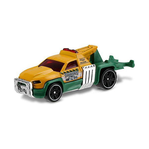 Базовая машинка Mattel Hot Wheels, Repo DutyМашинки<br>Характеристики:<br><br>• возраст: от 3 лет;<br>• материал: металл, пластмасса;<br>• вес упаковки: 30 гр.;<br>• размер упаковки: 11х4х11 см;<br>• тип упаковки: блистерный;<br>• страна бренда: США.<br><br>Машинка Hot Wheels от Mattel входит в группу моделей базовой коллекции. Миниатюры этой серии изображают реальные автомобили, спорткары, фургоны, мотоциклы в масштабе 1:64, а также модели с собственным оригинальным дизайном. Собрав свою линейку машинок, ребенок сможет устраивать заезды, гонки и меняться экземплярами с друзьями.<br><br>Монолитные элементы игрушки увеличивают ее прочность. Падение и столкновение с твердыми предметами во время игр не отражается на внешнем виде и ходе машинки. Кузов отчетливо детализирован, покрыт стойкими насыщенными красками. Колеса легко вращаются вокруг своей оси.<br><br>Игрушка выполнена из качественных материалов, сертифицированных по стандартам безопасности для использования детьми.<br><br>Машинку Hot Wheels из базовой коллекции можно купить в нашем интернет-магазине.<br>Ширина мм: 110; Глубина мм: 45; Высота мм: 110; Вес г: 30; Возраст от месяцев: 36; Возраст до месяцев: 96; Пол: Мужской; Возраст: Детский; SKU: 7191309;