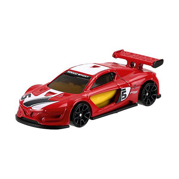 Базовая машинка Mattel Hot Wheels, Гоночная машинкаМашинки<br>Характеристики:<br><br>• возраст: от 3 лет;<br>• материал: металл, пластмасса;<br>• вес упаковки: 30 гр.;<br>• размер упаковки: 11х4х11 см;<br>• тип упаковки: блистерный;<br>• страна бренда: США.<br><br>Машинка Hot Wheels от Mattel входит в группу моделей базовой коллекции. Миниатюры этой серии изображают реальные автомобили, спорткары, фургоны, мотоциклы в масштабе 1:64, а также модели с собственным оригинальным дизайном. Собрав свою линейку машинок, ребенок сможет устраивать заезды, гонки и меняться экземплярами с друзьями.<br><br>Монолитные элементы игрушки увеличивают ее прочность. Падение и столкновение с твердыми предметами во время игр не отражается на внешнем виде и ходе машинки. Кузов отчетливо детализирован, покрыт стойкими насыщенными красками. Колеса легко вращаются вокруг своей оси.<br><br>Игрушка выполнена из качественных материалов, сертифицированных по стандартам безопасности для использования детьми.<br><br>Машинку Hot Wheels из базовой коллекции можно купить в нашем интернет-магазине.<br>Ширина мм: 110; Глубина мм: 45; Высота мм: 110; Вес г: 30; Возраст от месяцев: 36; Возраст до месяцев: 96; Пол: Мужской; Возраст: Детский; SKU: 7191320;