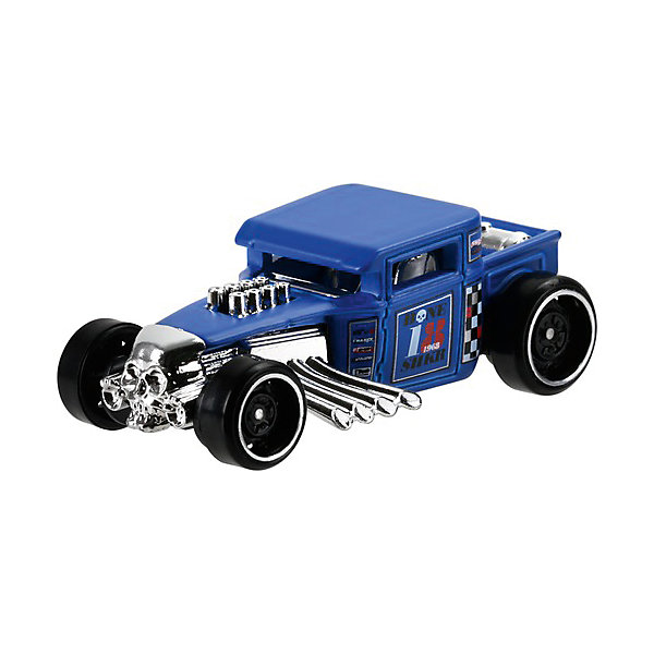 Mattel Базовая машинка Mattel Hot Wheels, Bone Shaker mattel машинка hot wheels из базовой коллекции