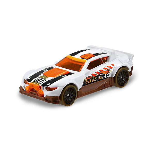 Базовая машинка Mattel Hot Wheels, Rally CatМашинки<br>Характеристики:<br><br>• возраст: от 3 лет;<br>• материал: металл, пластмасса;<br>• вес упаковки: 30 гр.;<br>• размер упаковки: 11х4х11 см;<br>• тип упаковки: блистерный;<br>• страна бренда: США.<br><br>Машинка Hot Wheels от Mattel входит в группу моделей базовой коллекции. Миниатюры этой серии изображают реальные автомобили, спорткары, фургоны, мотоциклы в масштабе 1:64, а также модели с собственным оригинальным дизайном. Собрав свою линейку машинок, ребенок сможет устраивать заезды, гонки и меняться экземплярами с друзьями.<br><br>Монолитные элементы игрушки увеличивают ее прочность. Падение и столкновение с твердыми предметами во время игр не отражается на внешнем виде и ходе машинки. Кузов отчетливо детализирован, покрыт стойкими насыщенными красками. Колеса легко вращаются вокруг своей оси.<br><br>Игрушка выполнена из качественных материалов, сертифицированных по стандартам безопасности для использования детьми.<br><br>Машинку Hot Wheels из базовой коллекции можно купить в нашем интернет-магазине.<br>Ширина мм: 110; Глубина мм: 45; Высота мм: 110; Вес г: 30; Возраст от месяцев: 36; Возраст до месяцев: 96; Пол: Мужской; Возраст: Детский; SKU: 7191340;
