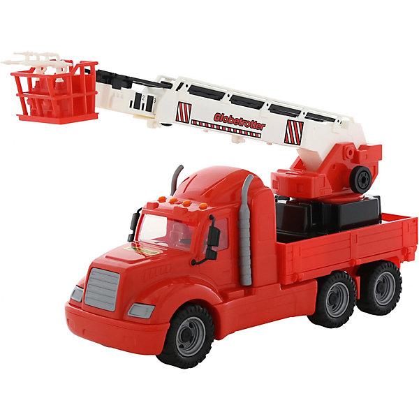 Polesie Машинка Полесье Майк Пожарный автомобиль (в сетке) машина игрушечная с аксессуарами полесье майк