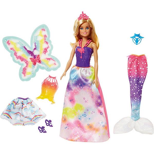 Mattel Кукла Barbie Сказочная принцесса-фея-русалка