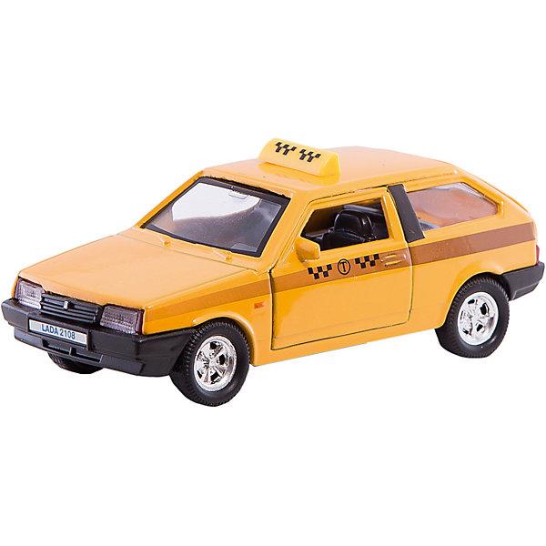 Autotime Коллекционная машинка Autotime Lada 2108 Такси, 1:36 autotime машинка газ 31105 волга мчс 1 43 autotime
