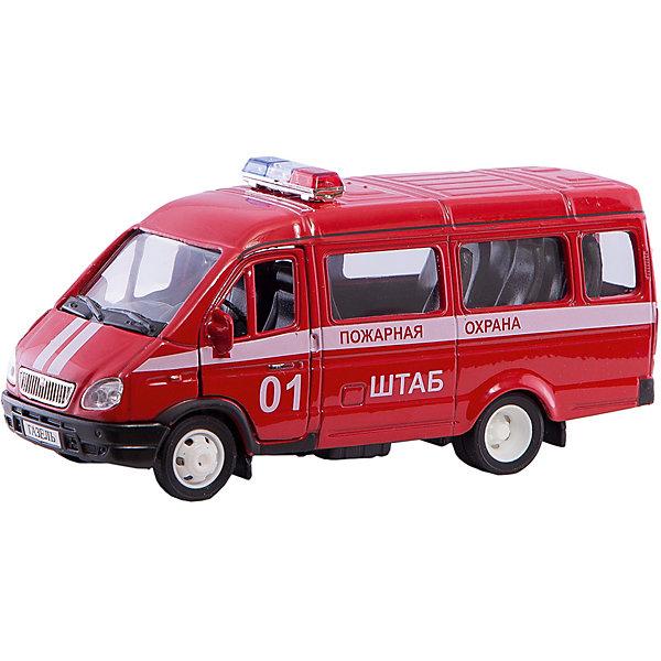 Autotime Коллекционная машинка Autotime Газель Пожарная охрана, 1:43 autotime коллекционная модель автомобиля saleen s7 цвет оранжевый масштаб 1 18