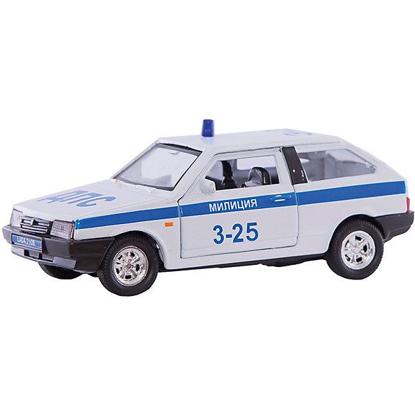 Autotime Коллекционная машинка Autotime Lada 2108 Милиция, 1:36