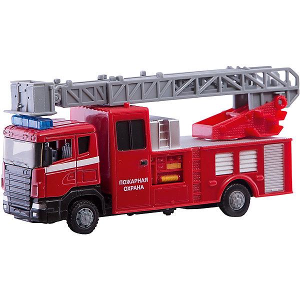 Машинка Autotime Пожарная машина Scania Fire с лестницей, 1:48Машинки<br>Игрушка транспортная из металла и пластмассы - автомобиль TM Autotime, серия Грузовики и спецтехника, масштаб 1:48, инерционный механизм. Упакован в коробку с окошком. Имеет игровые свойства.<br>Ширина мм: 197; Глубина мм: 111; Высота мм: 60; Вес г: 262; Возраст от месяцев: 36; Возраст до месяцев: 2147483647; Пол: Мужской; Возраст: Детский; SKU: 7192768;