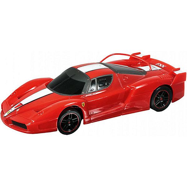 Радиоуправляемая машина MJX Ferrari FXX, 1:20 (красная)Радиоуправляемые машины<br>Характеристики:<br><br>• тип игрушки: машинка;<br>• возраст: от 8 лет;<br>• размер: 35x15х16 см;<br>• вес: 130 гр;<br>• масштаб: 1:20;<br>• время зарядки: 60 мин;<br>• питание машины: 3.6V 600 mAh (аккумулятор);<br>• питание пульта: 9V типа «Крона»;<br>• рабочая частота: 27.40 мГц;<br>•  привод: задний;<br>• комплектация:  машина, пульт управления, зарядное устройство, аккумулятор;<br>• упаковка: картонная коробка блистерного типа;<br>• материал: пластик;<br>• бренд: MJX.<br><br>Машина Ferrari FXX 1/20 - масштабная радиоуправляемая модель спортивного автомобиля в процентном соотношении с оригинальной моделью 1:20. Высокая детализация игрушки, скорость до 10 километров в час и дистанция управления до 20 метров дадут возможность почувствовать маневренность и легкую управляемость автомобиля. <br><br>Модель имеет четыре направления движения - вперед, назад, вправо и влево, работающие передние и задние фары, обладает регулятором прямого хода. <br><br>Модель предназначена для игры как внутри помещения, так и на улице при езде на ровных поверхностях. Реалистичная и красивая радиоуправляемая модель доставит радость не только ребенку, но и взрослому.<br><br>Машину Ferrari FXX 1/20 можно купить в нашем интернет-магазине.<br>Ширина мм: 350; Глубина мм: 150; Высота мм: 160; Вес г: 130; Возраст от месяцев: 96; Возраст до месяцев: 2147483647; Пол: Мужской; Возраст: Детский; SKU: 7193419;