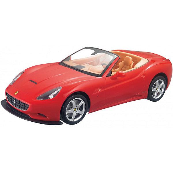 Радиоуправляемая машина MJX Ferrari California, 1:10 (красная)Радиоуправляемые машины<br>Характеристики:<br><br>• тип игрушки: машинка;<br>• возраст: от 8 лет;<br>• размер: 35x15х16 см;<br>• вес: 130 гр;<br>• масштаб: 1:10;<br>• время зарядки: 60 мин;<br>• питание машины: 3.6V 600 mAh (аккумулятор);<br>• питание пульта: 9V типа «Крона»;<br>• рабочая частота: 27.40 мГц;<br>•  привод: задний;<br>• комплектация:  машина, пульт управления, зарядное устройство, аккумулятор;<br>• упаковка: картонная коробка блистерного типа;<br>• материал: пластик;<br>• бренд:  MJX.<br><br>Машина Ferrari CALIFORNIA 1/10 - копия оригинальной машины, которая с точностью до мельчайших аспектов и деталей дублирует внешний вид своего первоисточника. Неповторимое оформление, соответствующее оригинальному, броский и яркий дизайн, несомненно, восхитят ребёнка. Основной особенностью этой модели является подсветка фар при движении машины вперёд или назад. <br><br>Имеет отличную дальность управления. Данная игрушка обладает официальной лицензией и протестирована на безопасное использование, поэтому ваш ребёнок никоим образом не нанесёт ущерб себе или своему здоровью. Комплект содержит в себе полностью готовую к использованию модель автомобиля со всеми составляющими частями к ней.<br><br>Модель предназначена для игры как внутри помещения, так и на улице при езде на ровных поверхностях. Реалистичная и красивая радиоуправляемая модель доставит радость не только ребенку, но и взрослому.<br><br>Машину Ferrari CALIFORNIA 1/10 можно купить в нашем интернет-магазине.<br>Ширина мм: 350; Глубина мм: 150; Высота мм: 160; Вес г: 130; Возраст от месяцев: 96; Возраст до месяцев: 2147483647; Пол: Мужской; Возраст: Детский; SKU: 7193429;