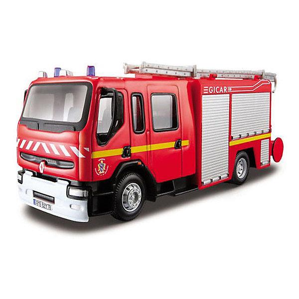 Купить Пожарная машинка Bburago Renault Premium , 1:50, Китай, Мужской